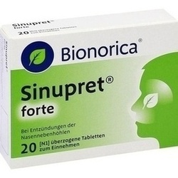 SINUPRET FORTE DRAGEES